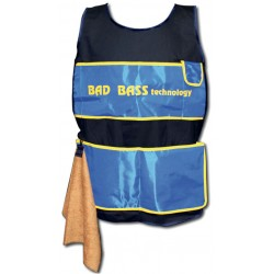 Bad Bass Grembiule Gara con asciugamano
